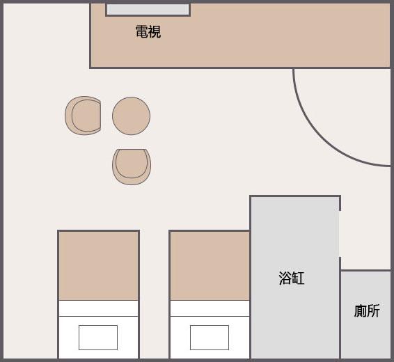 二床房[8樓]