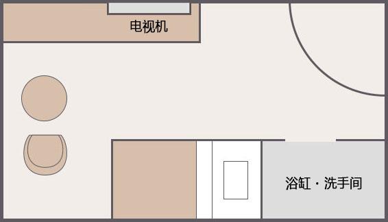 单人客房[8F]